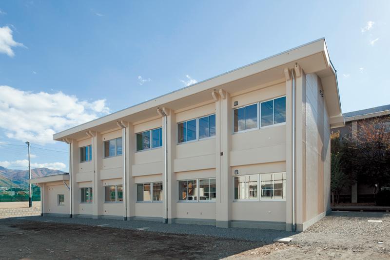 松本県ヶ丘高校校舎棟